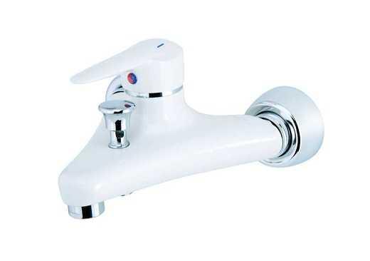 شیر حمام شایان مدل شیبا سفید