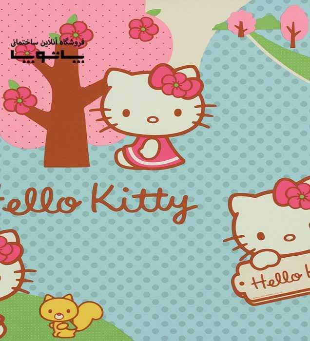کاغذ دیواری کودک Kids Club طرح هلو کیتی