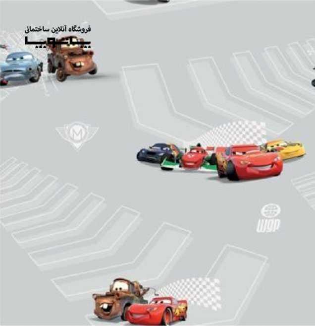 کاغذ دیواری کودک kids Club طرح ماشین ها